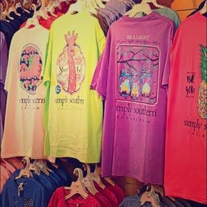3 Pack of random simply southern T- shirts